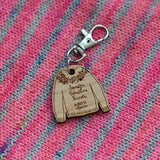 La Bien Aimée Sweater Weather Forever Key Chain