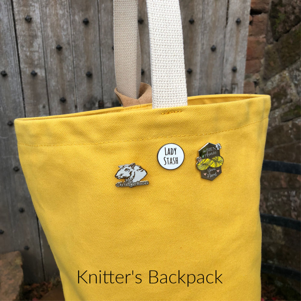 Knitter's Backpack