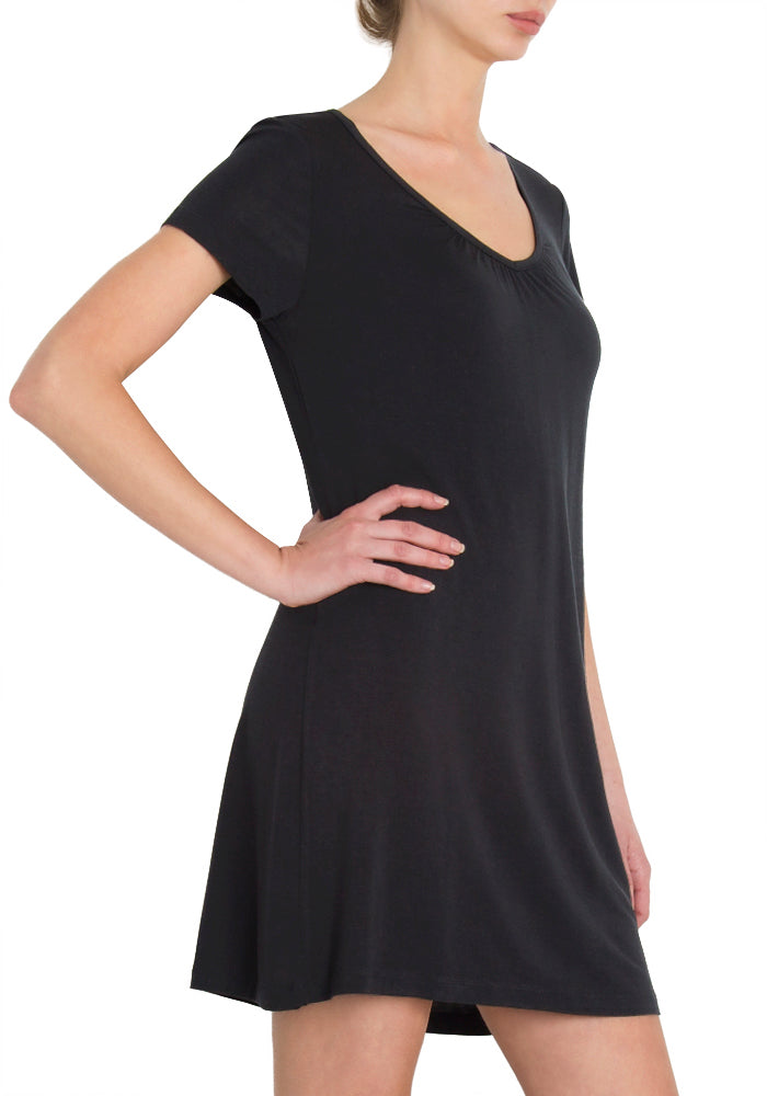 Short Sleeve Sleep Dress