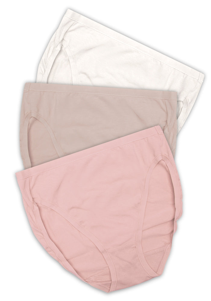 Cotton Stretch Hi-Cut (3 Pack)