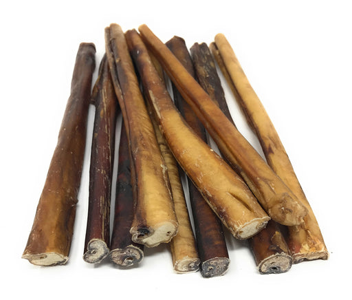 12-Inch Extra Thick Bully Sticks - low to moderate odor