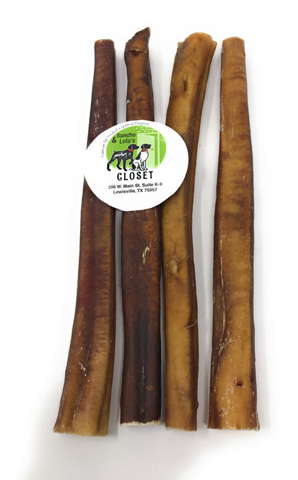12-Inch Traditional Jumbo & Monster Bully Sticks - moderate odor