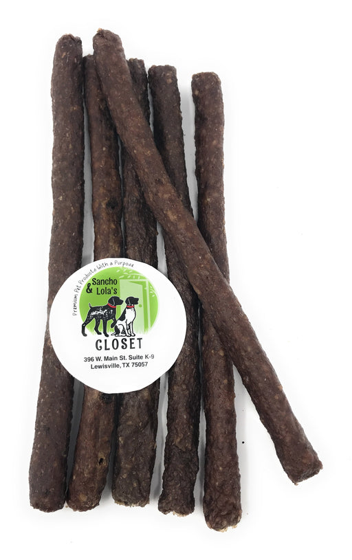 "10"" Bully-n-Beef Crunchy Bully Sticks USDA Certified - New Arrival Limited Batch!"