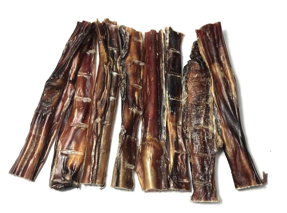 "6"" Steer Sticks - Made in Nebraska  / Odor-Free Gentle Chew 'Skin-On' Bully Sticks"