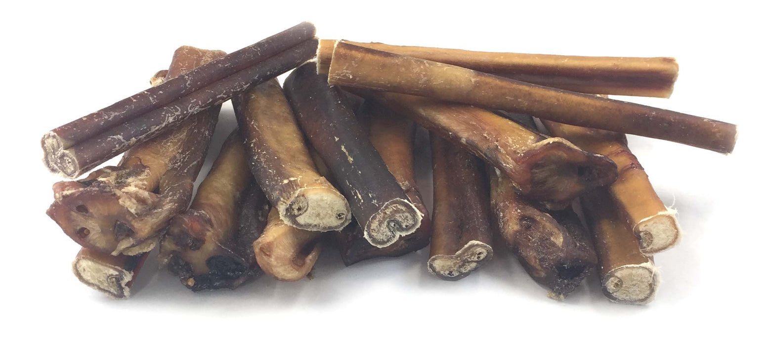 6-Inch Traditional Standard Bully Sticks- low to moderate odor-Buy Bulk & Save!
