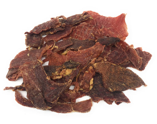 NEW! Lean Pork Loin Jerky Dog Treats, 8-oz bag - Farmed in USA