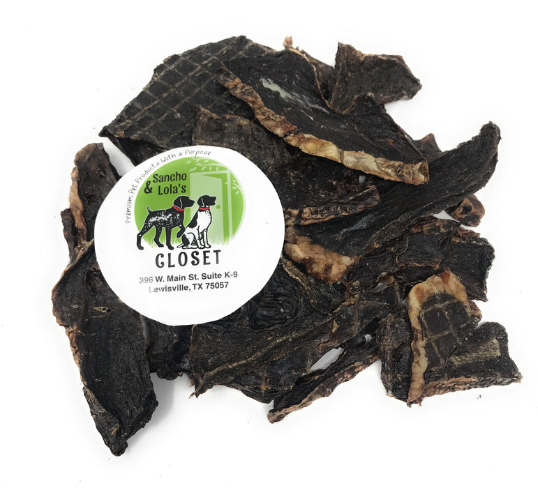 NEW!  Traditional Beef Jerky Dog Treats, 8-oz bag