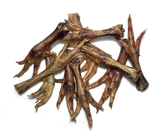 Texas-Sourced Organic, Sustainably-Raised Chicken Feet Human-Grade Chews with Collagen, Glucosamine & Chondroitin
