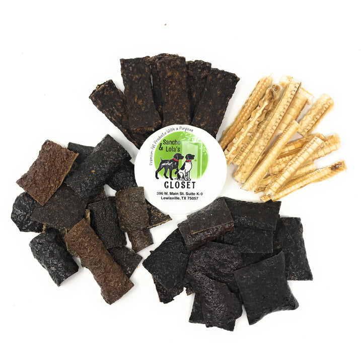 New! Exotic Jerky Variety Pack - 8oz