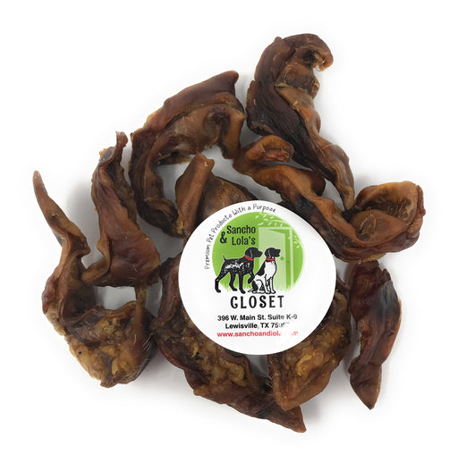 SUMMER DEAL! USA Human-Grade Maple-Smoked Pig Ear Canal 'KRUNCHERS'