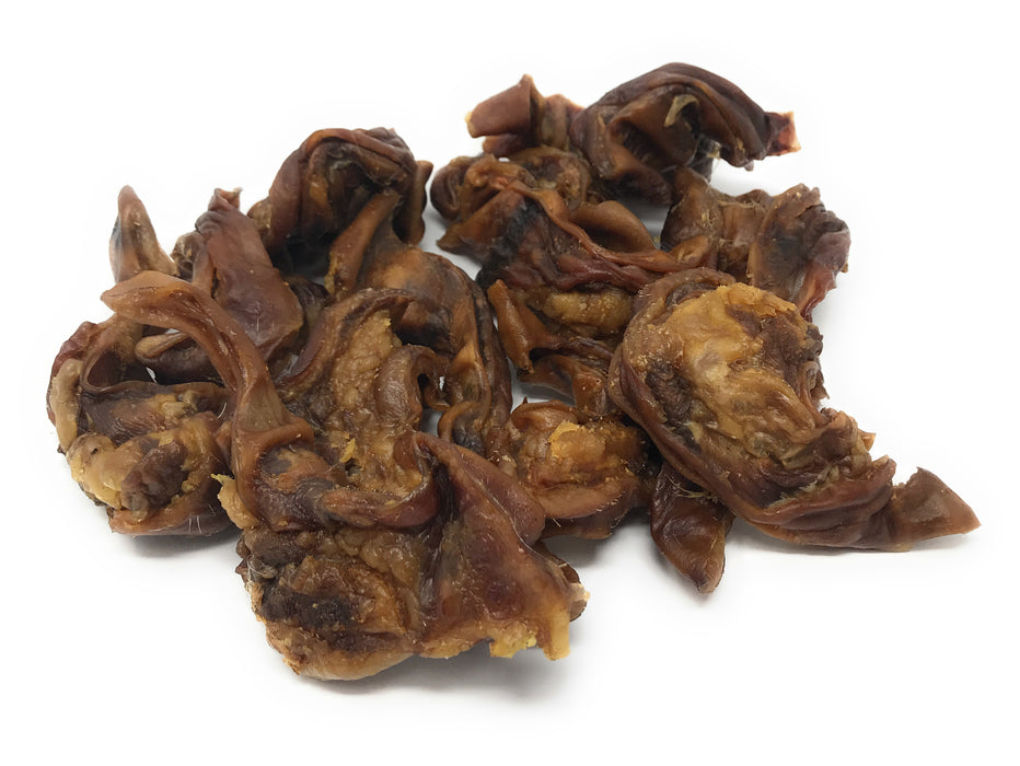 FALL DEAL! USA Human-Grade Maple-Smoked Pig Ear Canal 'KRUNCHERS'