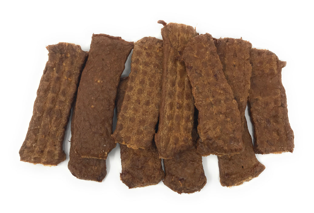 New Batch! USA Angus Beef Jerky Strips for Dogs - 8oz
