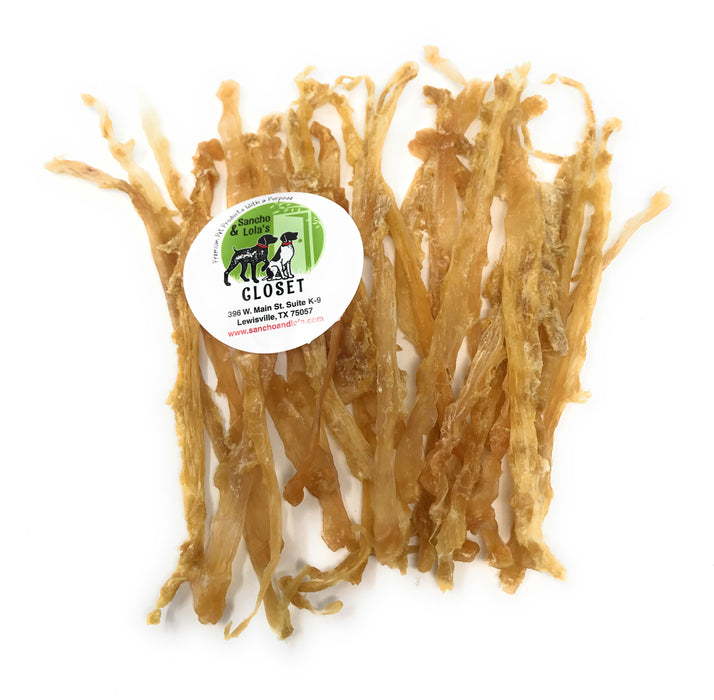 Hackberry Smoked Flat Turkey Tendon Dog Chews