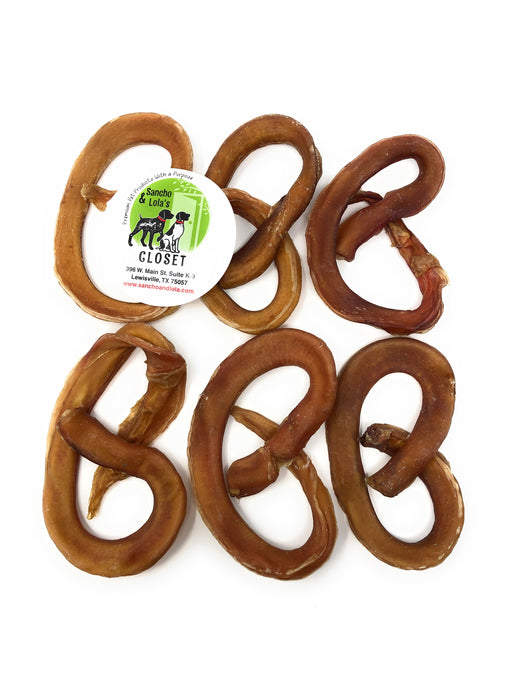 Gourmet Pretzels-Bully Stick Gentle Chews - moderate odor