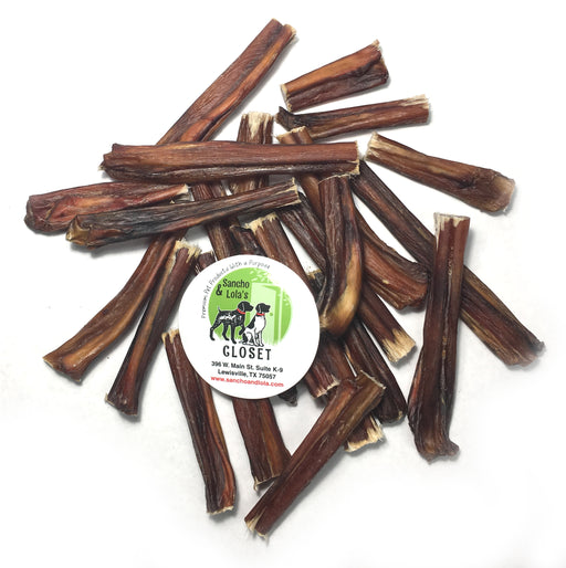 "Black Angus Bully Stick 3-5"" Shorties & Bites - Odor Free - End of Batch Sale!"