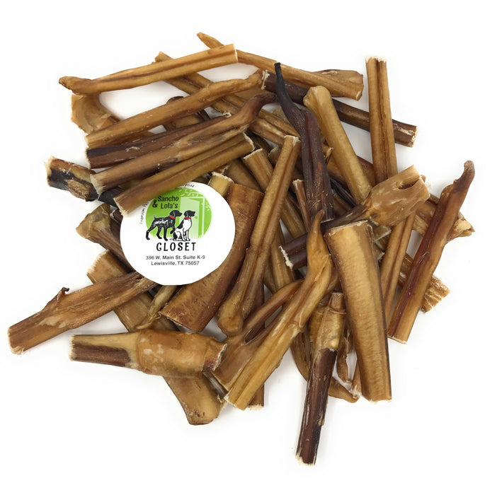 "Bully Stick Grab Bags - all shapes and sizes, mostly  3""-5""-Buy Bulk & Save"