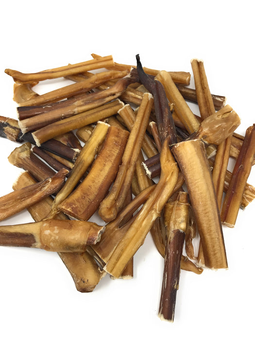 "Bully Stick Grab Bags - all shapes and sizes, mostly  3""-5"""