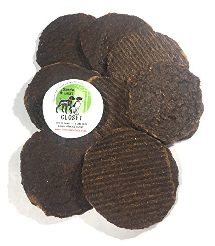 """Wag""-Yoo Beef Blend Burger Treats for Dogs Made in the USA"