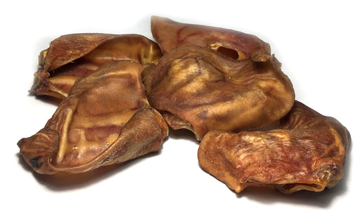 USA Human-Grade Maple-Smoked Thick-Cut Pig Ears-Buy Bulk & Save!
