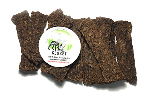 BATCH REDUCTION SALE!! 35% OFF  USA Soft Venison, Beef Liver & Sweet Potato Jerky Strips for Dogs