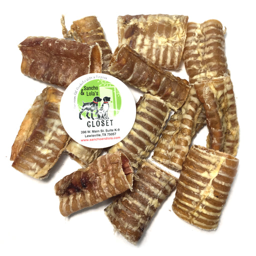 USA Beef or Lamb Trachea for Dogs - Loaded with Glucosamine and Chondroitin