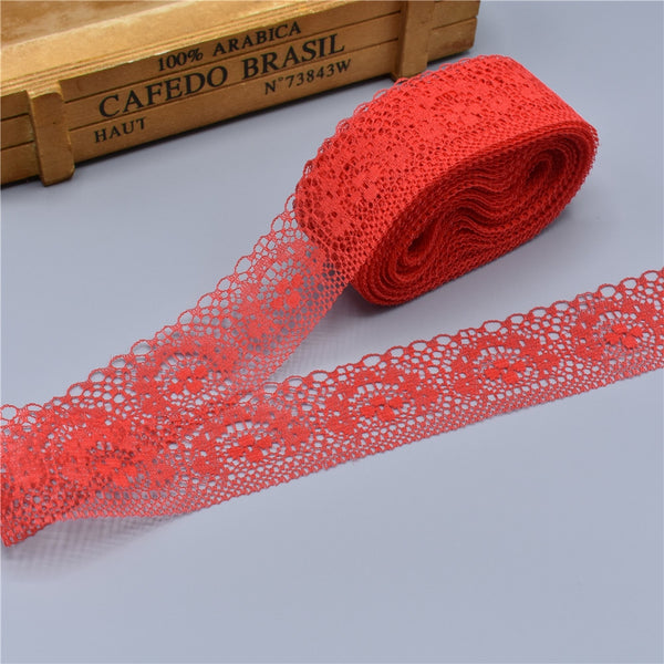 10 Yards High Quality Beautiful Lace Ribbon Tape