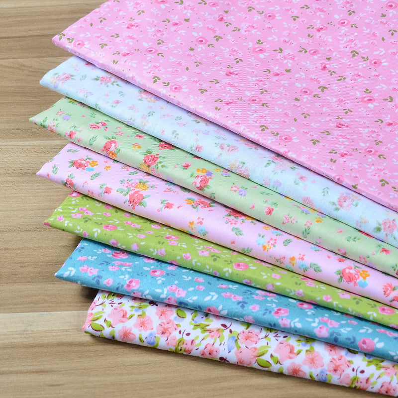 50 Pcs Candy Color Cotton Patchwork Fabric for Decorations DIY Craft Quilting Cotton Sewing Fabric Sewing Squares Assorted Colors (3.9 X 3.9)