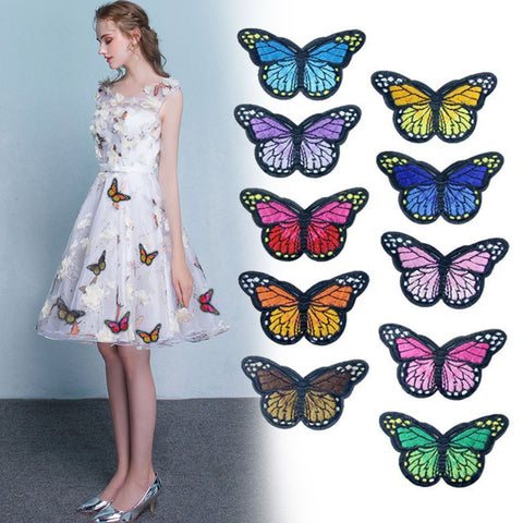 10 pcs Butterfly Patches