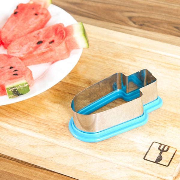 1PC Creative Watermelon Slicer Ice Cream Mold
