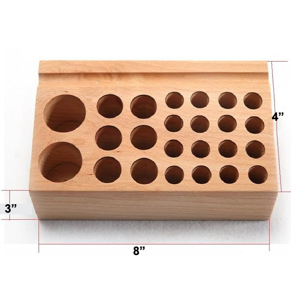 1 Pc 24 Holes Craftool Wood Tool Stamp Stand