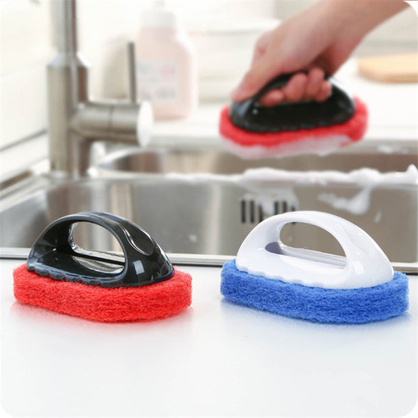 1pc Multifunctional Handle Sponge Brush