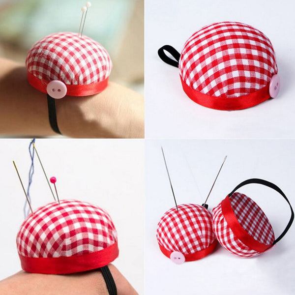 Pin Cushion With Elastic Wrist Band