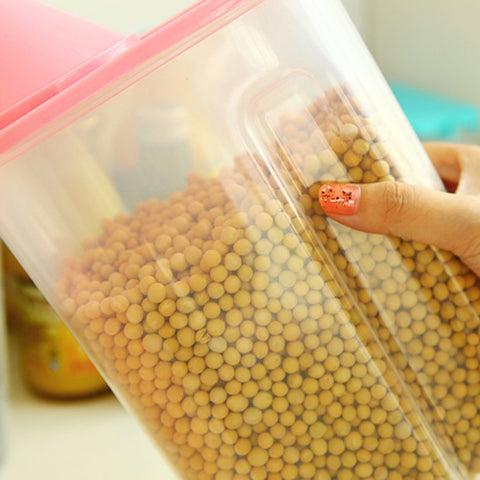 2.5L Plastic Kitchen Storage Container Box