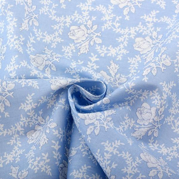 "6 pcs High Quality Cotton Fabric (16"" x 20"") Rose Design"