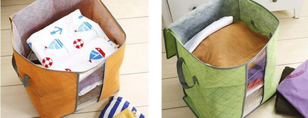 HIGH CAPACITY FABRIC STORAGE BAGS