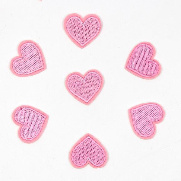 20 pcs Pink Heart-shaped Patches