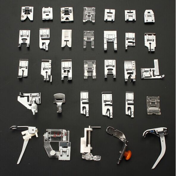32pcs Sewing Machine Parts Presser Foot