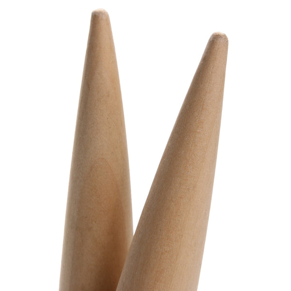2pcs 15cm Leathercraft Tool Edges Slicker Round Wood