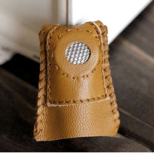 Amazing Handmade Leather Thimbles (2 Piece Set)