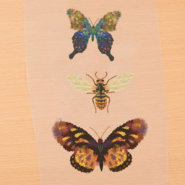 3 Pcs  Butterfly Patch