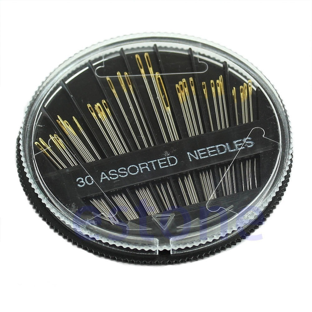 30pcs Pack Assorted Hand Sewing Needles