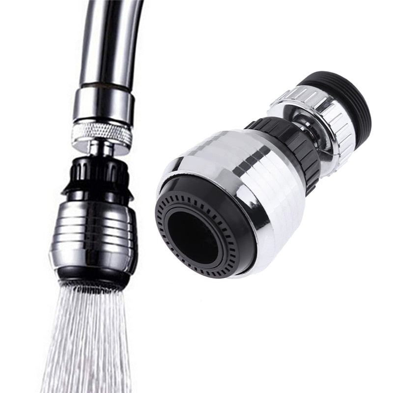360 Degree Rotate Kitchen Faucet Nozzle Torneira Water Filter