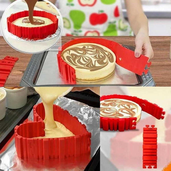 CAKE MOLD - BAKE SNAKE 4 PCS/SET