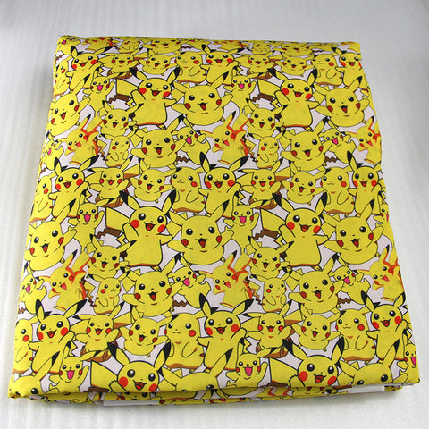 Printed Pikachu Pokemon patchwork