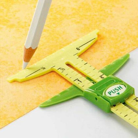 5-IN-1 Sliding Gauge Measuring Sewing Tool