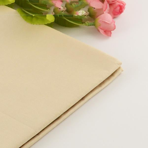 "Cotton Fabric (20"" x 63"") Light Khaki Series"