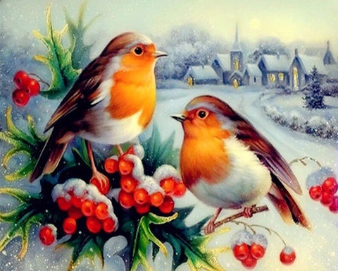 5D Diamond Embroidery Birds Animals