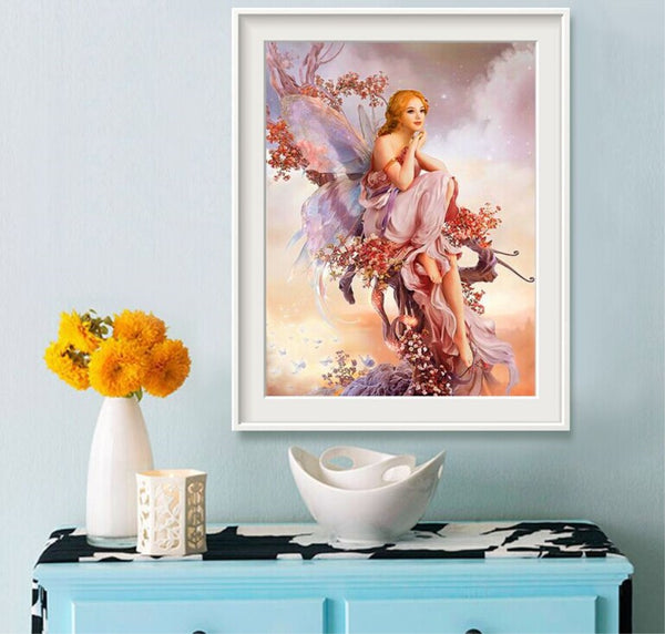 5D Diamond Painting Beautiful Fairy