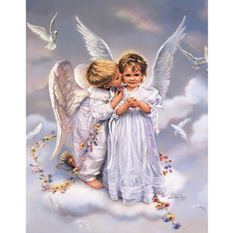 5D Diamond Painting Little Angel