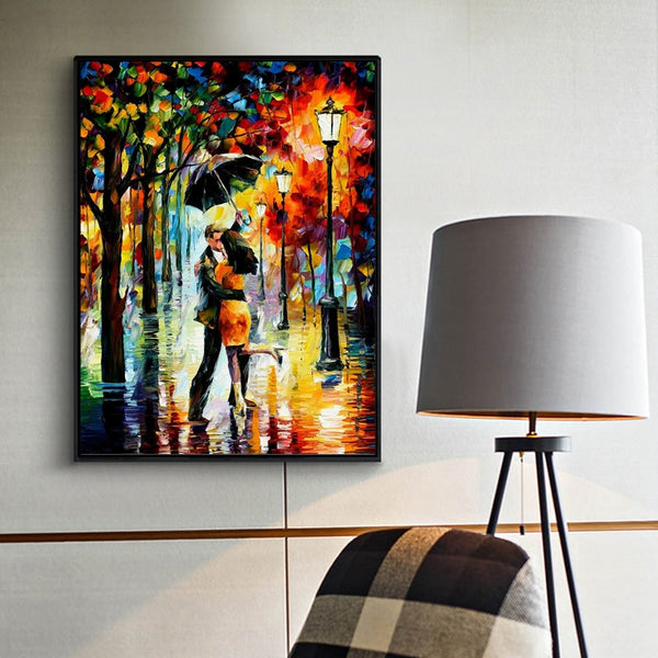 "5d Diamond Painting Mosaic ""Couple"""